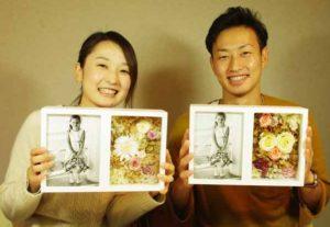 結婚式 両親へのプレゼント 写真立て