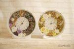 秋色の花時計